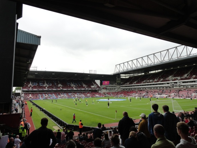 Forever Blowing bubbles at Upton Park.